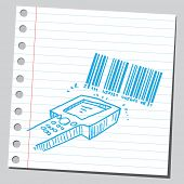 Bar code and scanner