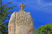 Menhir Saint Uzec, France