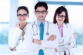 Three Asian Medical Doctors