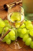 white wine glass