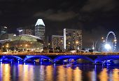 Singapore Skyline and Singapore river