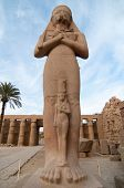 image of ramses  - Ruins of the Ancient Karnak Temple in Luxor Egypt Africa - JPG
