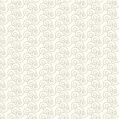 Seamless Vector Swirl Pattern Background