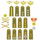 Insignia Of The Royal Greek Army