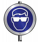 Mandatory goggles