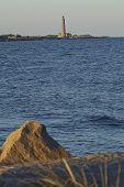 Skagen (denmark) - Lighthouse Grey Tower In The Evening