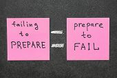 Failing To Prepare