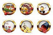 Casino Buttons