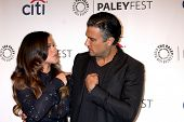 LOS ANGELES - SEP 6:  Gina Rodriguez, Jaime Camil at the Paley Center For Media's PaleyFest 2014 Fal