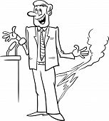 Pants On Fire Saying Coloring Page