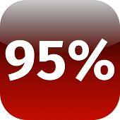 95 Percent Icon