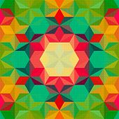 Vector Abstract Psychedelic Pattern