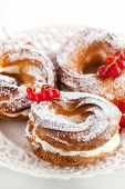 picture of cream puff  - Cream puff rings  - JPG
