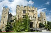 image of hever  - The famous castle in Kent on a summer
