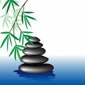 Spa, bamboo