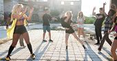 Energetic Young Hip Hop Street Dancers