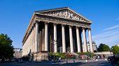 La Madeleine Church. Paris. France.
