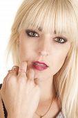 Woman Rings On Fingers Sensual