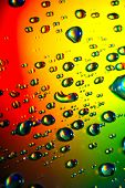 Abstract Background Of Water Drops