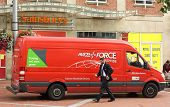 Parcelforce Delivery Van
