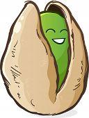 Pistachio Cartoon Character