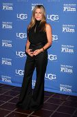 SANTA BARBARA - JAN 30:  Jennifer Aniston at the Santa Barbara International Film Festival - Montecito Award at a Arlington Theater on January 30, 2015 in Santa Barbara, CA