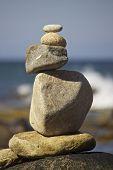 Zen Stone Pile
