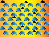 Blue Traffic  (motion Illusion)