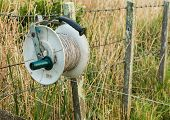 Electric Fence Reel