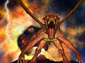 pic of doomsday  - Dinosaur doomsday came about at night - JPG