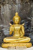 Statue Of Buddha At Wat Phra Phutthachai