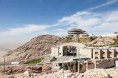 foto of jabal  - Jebel Hafeet mountains in Al Ain Emirate of Abu Dhabi UAE - JPG
