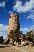 image of mary jane  - Desert View Watchtower in Grand Canyon South Rim in Arizona - JPG