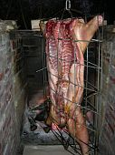 Whole pig cooking cochan de lait