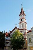 Orthodox Church Of Saint Nicholas In Vilnius, Lithuania