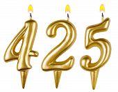 Candles Number Four Hundred Twenty Five