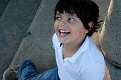 Beautiful Hispanic boy