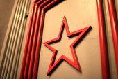 Shape Of Soviet Union Red Star