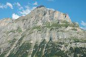Mattenberg Mountainside Nearby Grindelwald In Switzerland