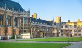 Trinity college university of Cambridge (founded by Henry VIII in 1546)