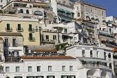 Amalfi, Houses And Building Architectural Detail