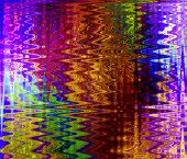 abstract colorful ZigZag pattern