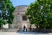 Greece, Thessaloniki, The Tomb Of The Roman Emperor Galerius (rotunda Of St. George)