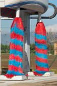 Red And Blue Car Wash Brush