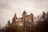 stock photo of dracula  - Bran Castle Transylvania Romania known as  - JPG