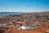 Lisbon with river Tagus