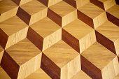 Old Palace Wooden Parquet Flooring Design