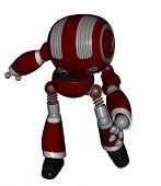 Cute robot that it raises