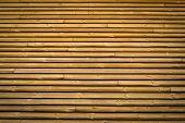 Horizontal Slats Wood