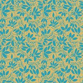 picture of barberry  - barberry seamless pattern - JPG